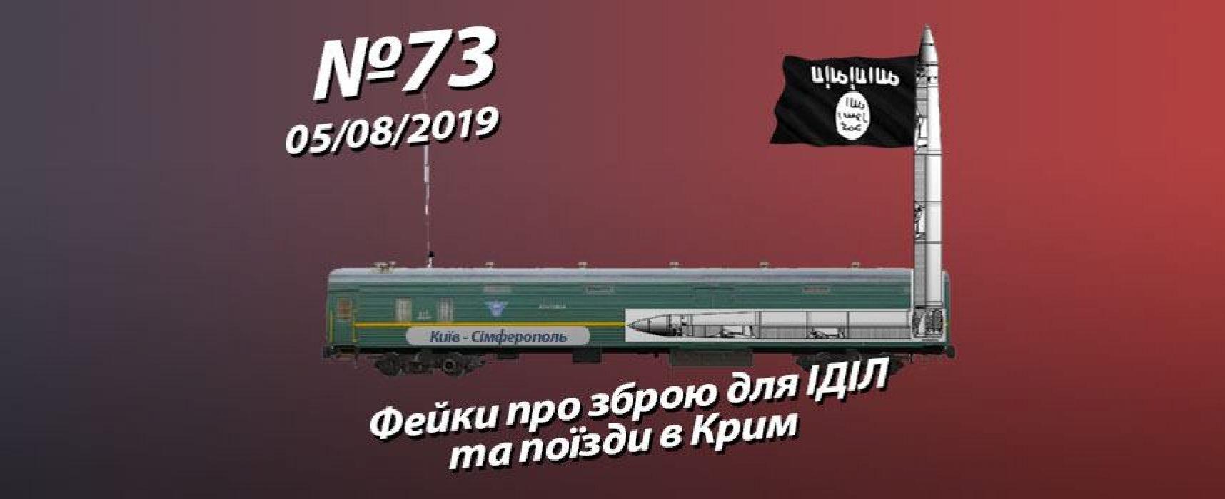 Фейки про зброю для ІДІЛ та поїзди в Крим – StopFake.org