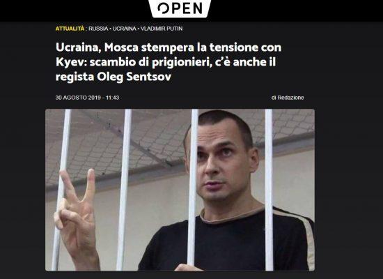 Fake: Ucraina, Mosca stempera la tensione con Kyiv: scambio di prigionieri