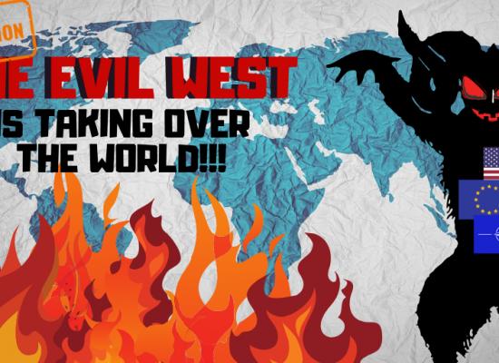 Imperialistický Západ opět útočí