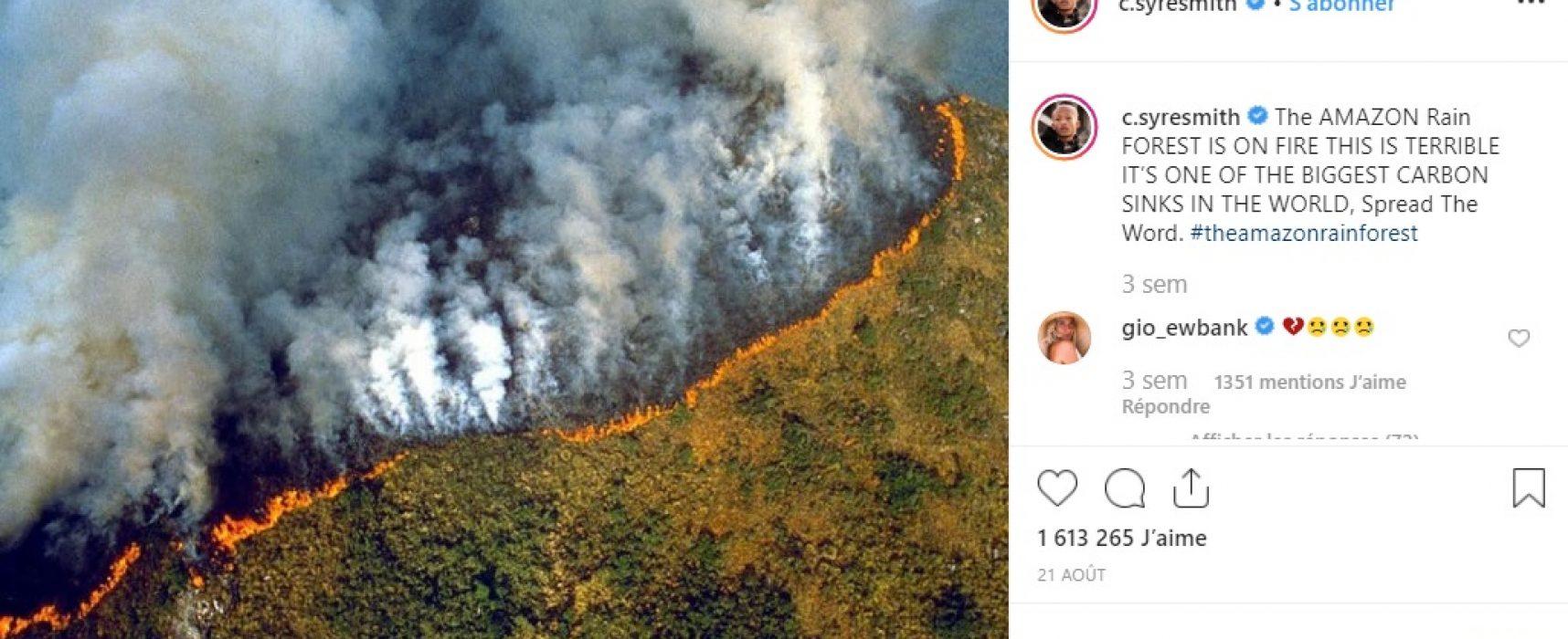 Las noticias falsas en torno a los incendios en la Amazonía