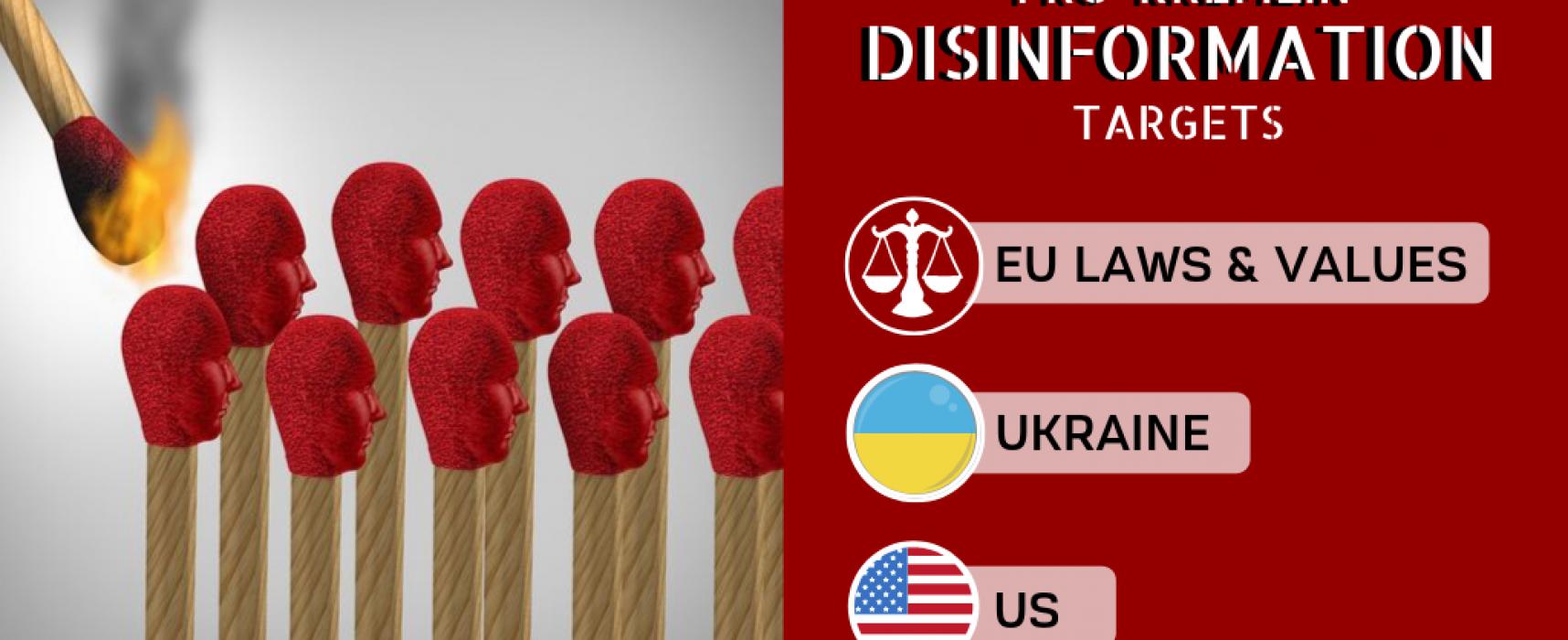 Taktika spálené země za použití dezinformací