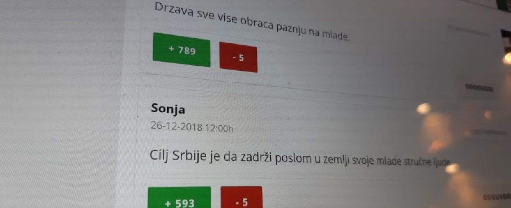 Serbian journalists expose a ruling party bot application used to manipulate readers' comments on media websites