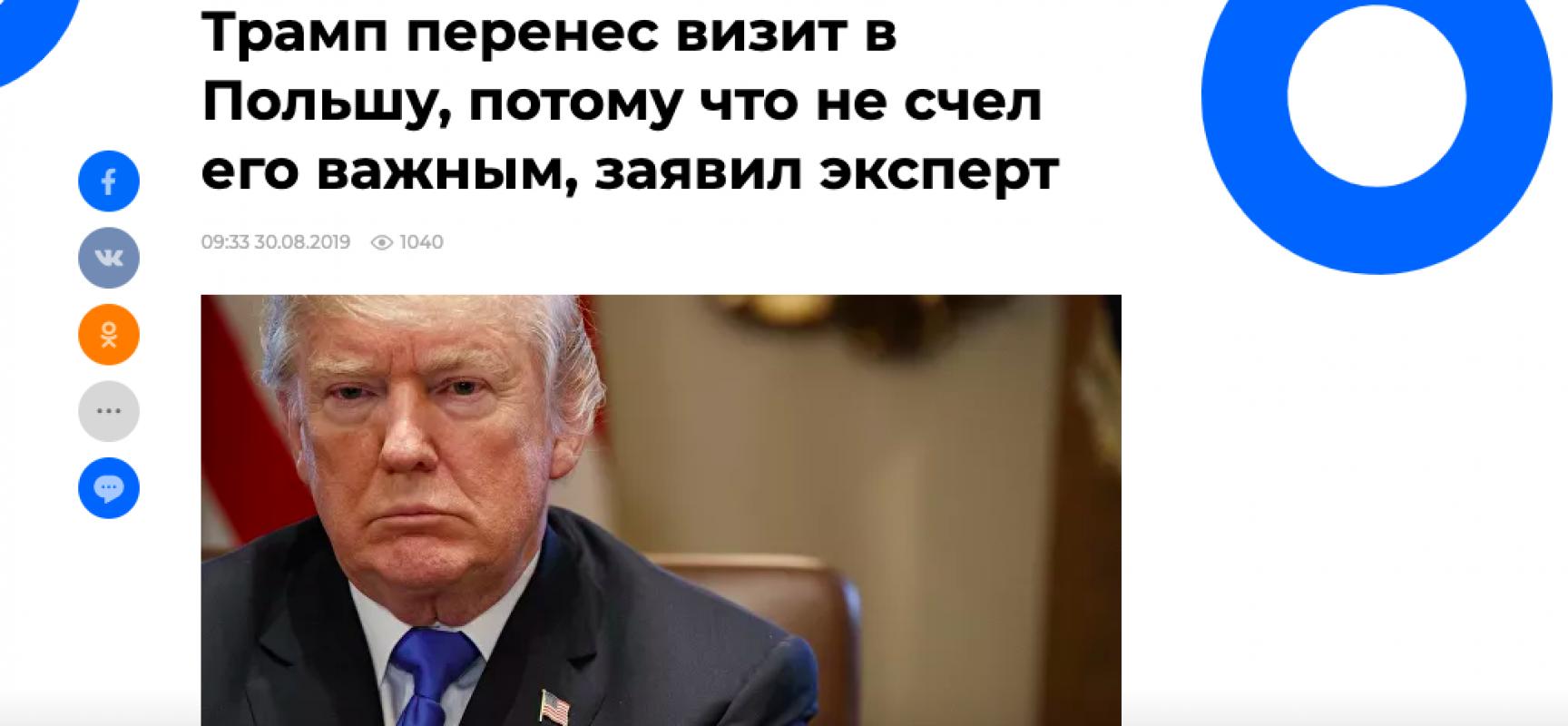 Fake: la russofobia dietro il mancato invito alla Russia