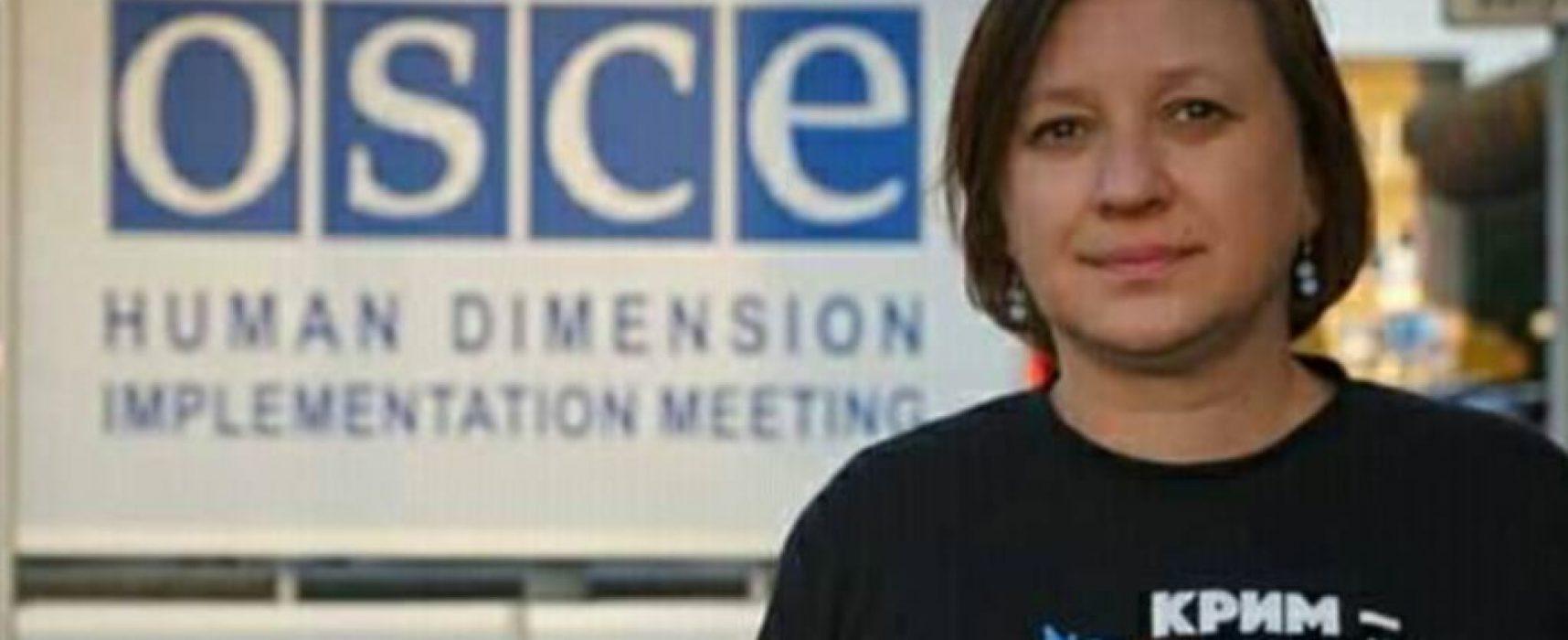 Совещание ОБСЕ превращается в пропагандистскую площадку России ‒ правозащитница