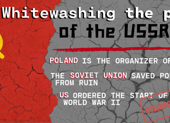 """Breaking """"News"""": The Kremlin discovered that Poland started WWII and the Baltics are not free"""
