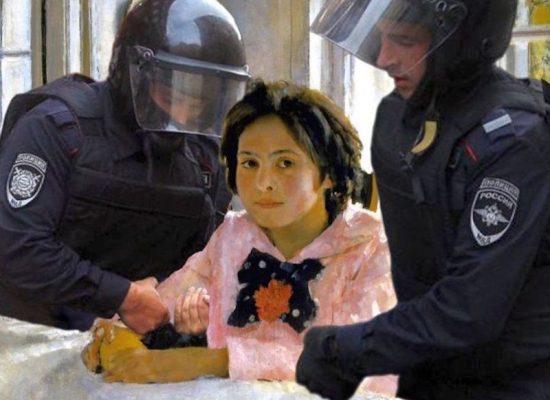 Revolución de Moscú quedará registrada en memes, en línea y en lienzos