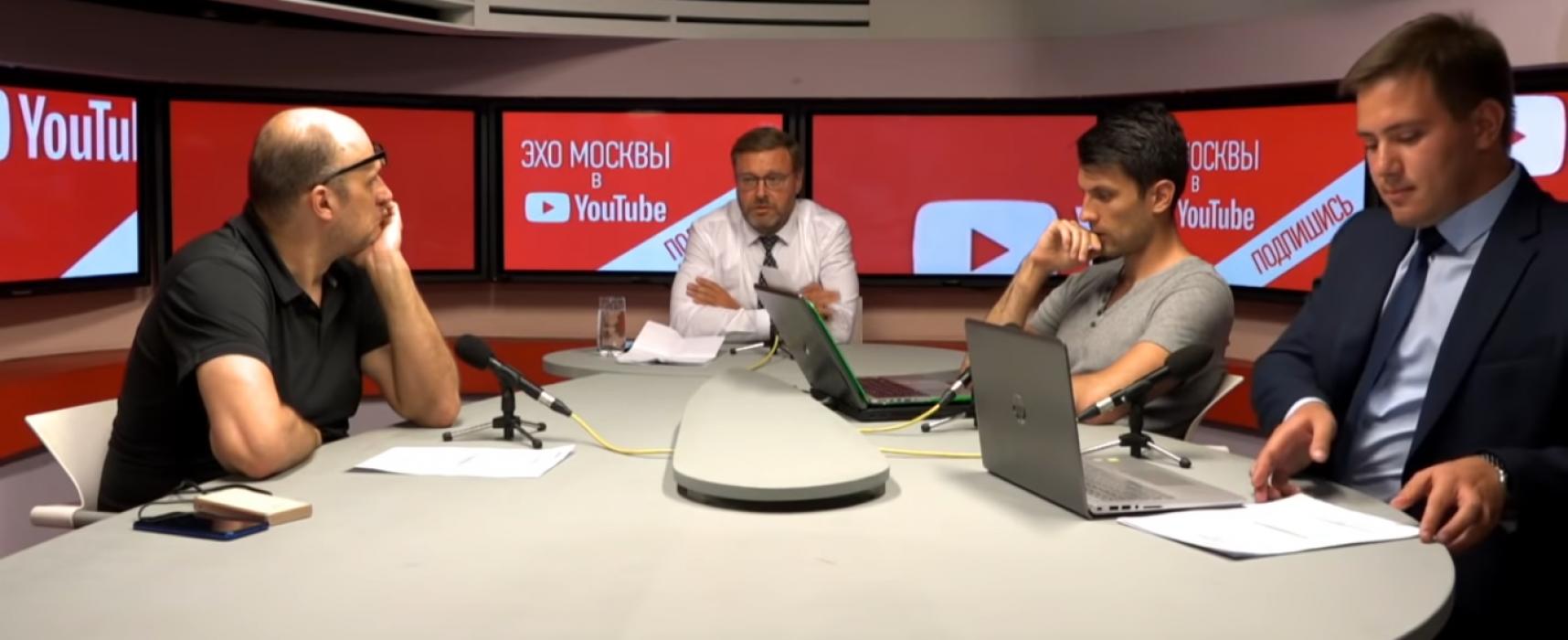 Фейк Костянтина Косачова: Сенцов на прес-конференції зізнався у двох підпалах і підготовці до вибуху