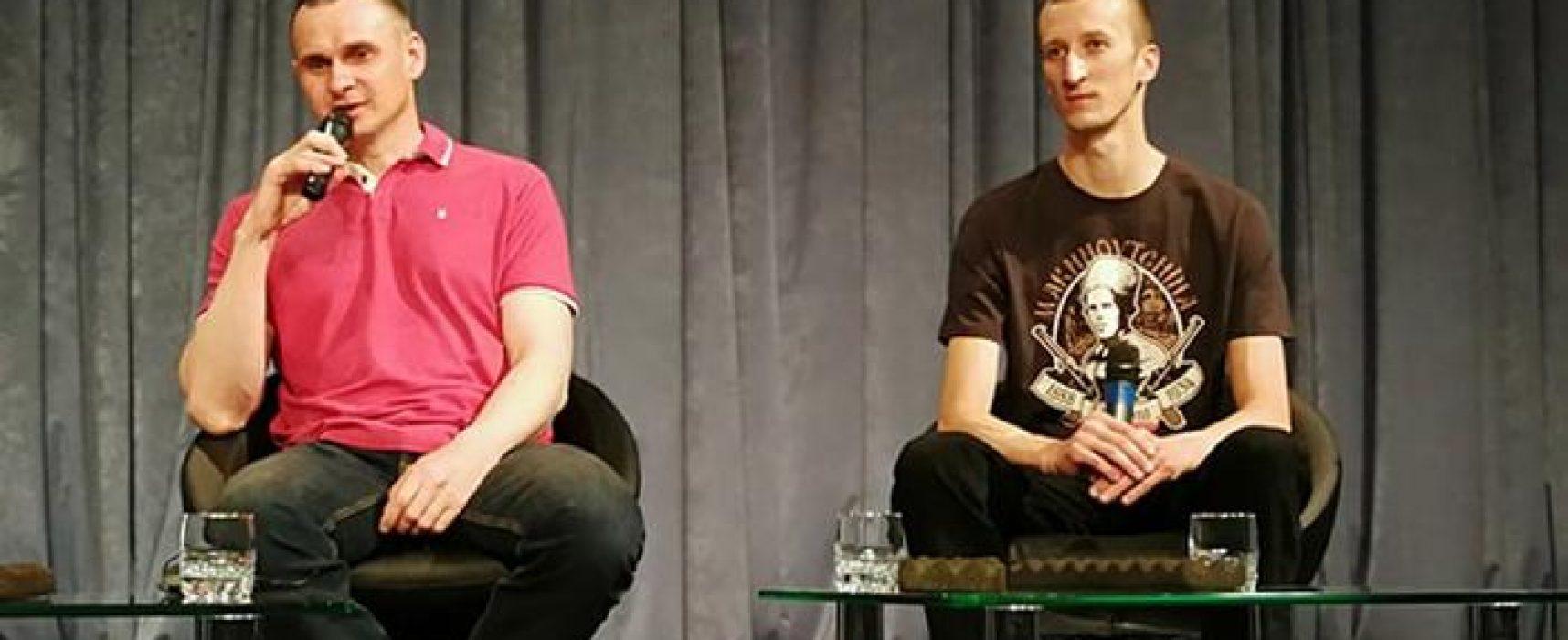 Les déclarations de Sentsov et Koltchenko lors de leur première conférence de presse à Kyiv