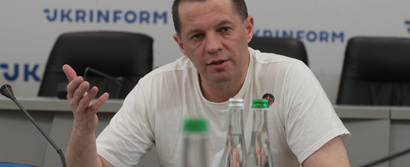 Roman Souchtchenko, journaliste, ancien prisonnier politique du Kremlin