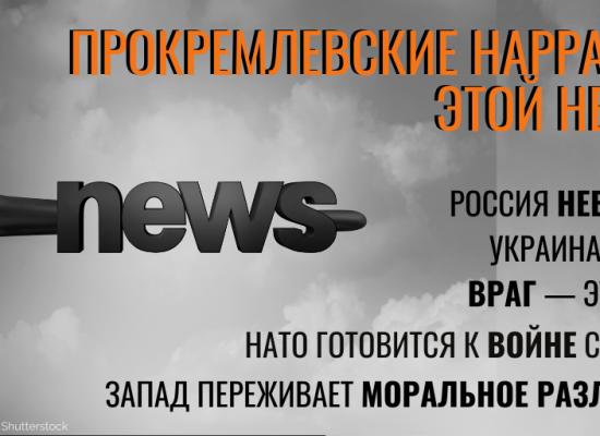 Обзор дезинформации: мир глазами Кремля