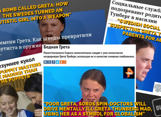 "Kremlin media on Greta Thunberg: ""An illiterate, fanatic Messiah"""