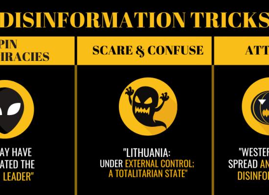 Disinformation tricks and pro-Kremlin treats