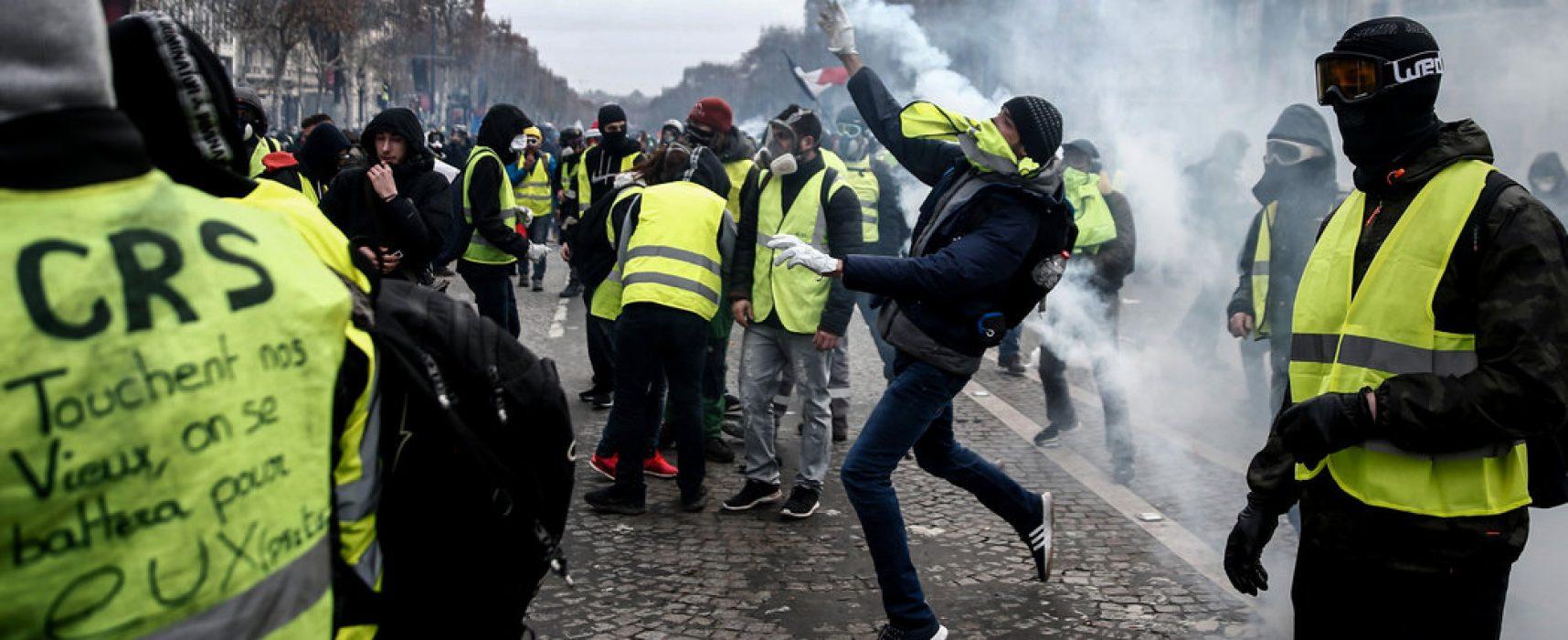 Фейк программы «Время»: во Франции работают специальные курсы по обучению участников массовых беспорядков