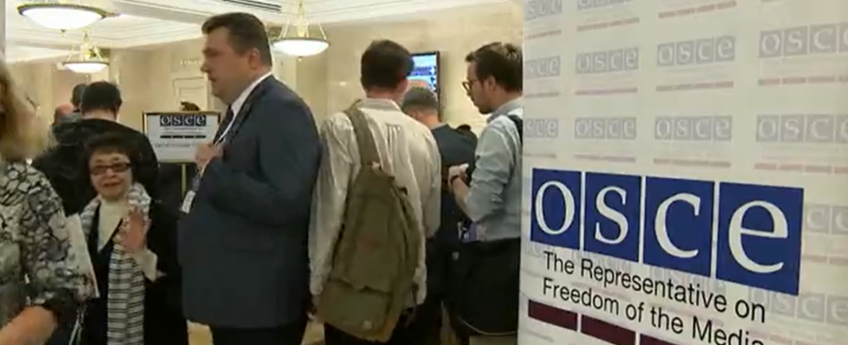 OSCE Media Rep collaborates with Russia on propaganda event in Moscow
