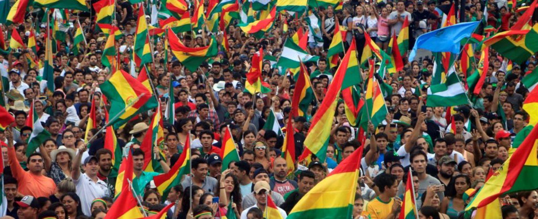 Falsedades en la TV rusa sobre los acontecimientos en Bolivia