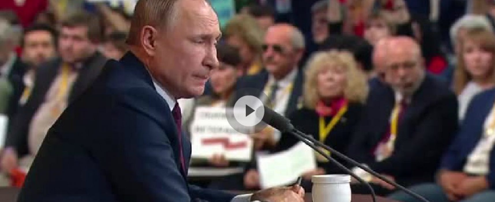 At his 15th year-end presser, Putin recycles false claims
