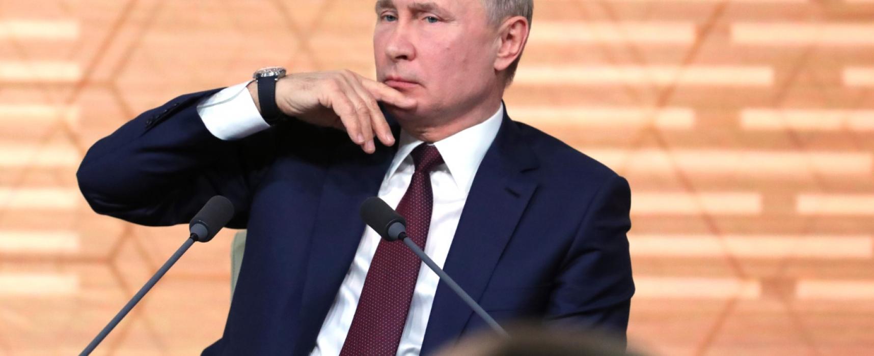 Vánoční pohádky: 10 příkladů toho, jak Putin obelhával novináře na tiskové konferenci