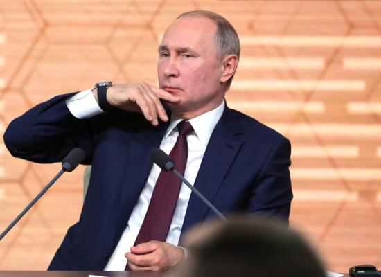 Co řekl Putin o Ukrajině na své tiskové konferenci: fact-checking