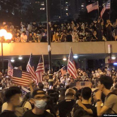 Russian 'troll farm' posts ersatz report on Hong Kong Thanksgiving Rally