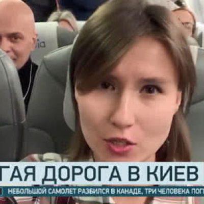 Российские пропагандисты прилетели в Киев и похвастались репортажем с Майдана