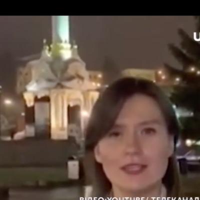 Visite de la chaîne de propagande russe à Kyiv