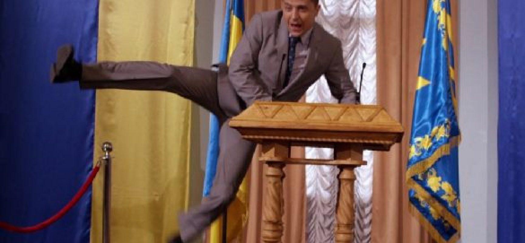 «Слуга народу» в Росії: після вирізаного жарту про Путіна серіал зняли з ефіру