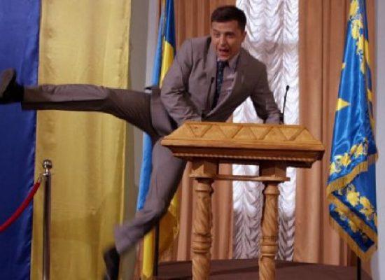 Služebník lidu v Rusku: po vystřihnutí vtipu o Putinovi bylo vysílání seriálu zrušeno