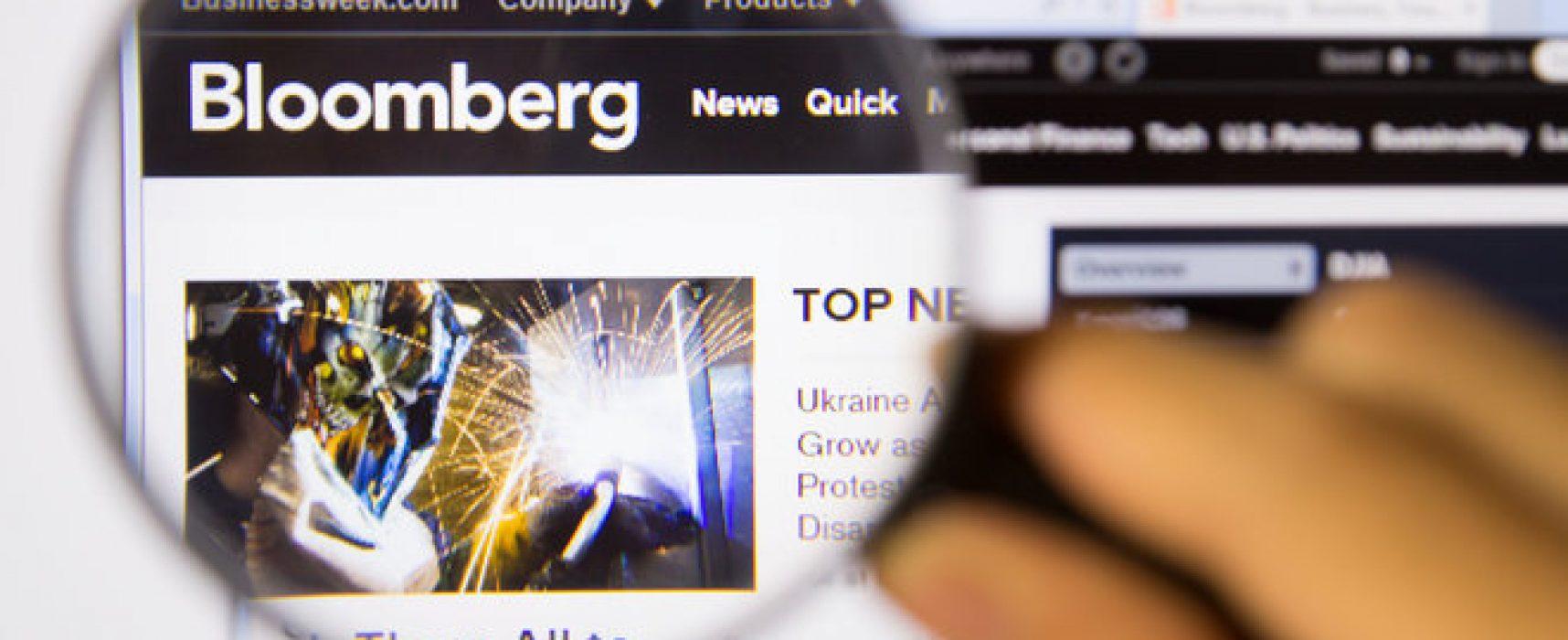 Bloomberg оштрафували на 5 млн євро за фейкову новину
