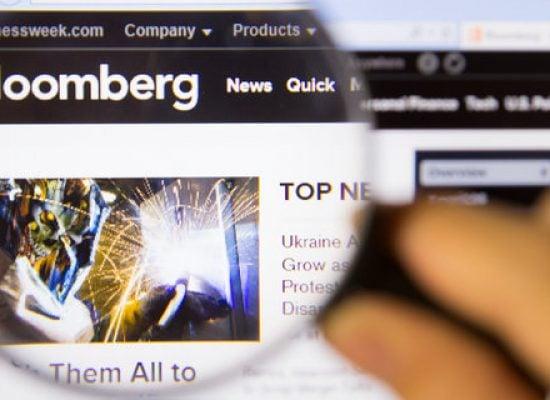 Bloomberg оштрафовали на 5 млн евро за фейковую новость