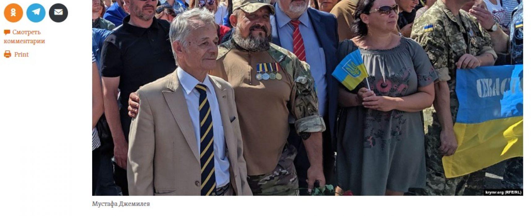 Маніпуляція: попереду маршу на Крим йтимуть «ті, кого не шкода»