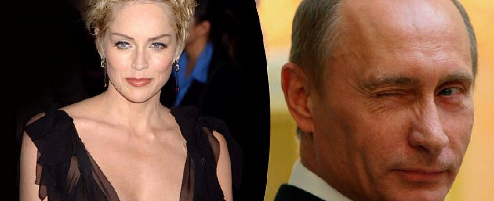 РІА «Новости» приписало Шерон Стоун схвальний відгук щодо Путіна