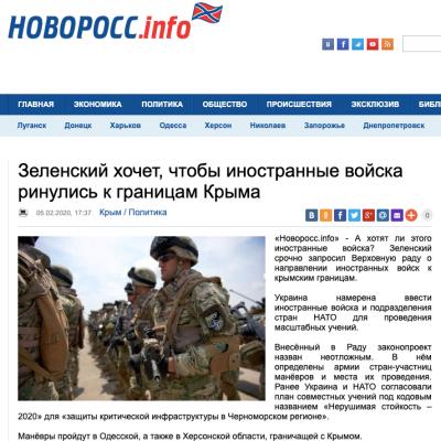 Fake: Prezident Zelenskyj chce na Ukrajinu přivést cizí vojska