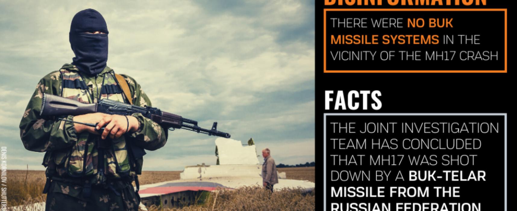 Pro-Kremlin disinformation desperation: MH17 and WWII