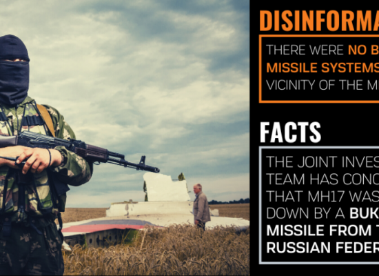 Pro-Kremlin disinformation desperation: MH17 and WWII