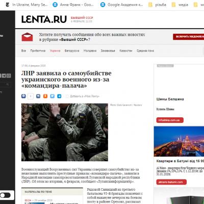 Fake: ukrajinský voják spáchal sebevraždu, aby nemusel střílet po občanech okupovaných území