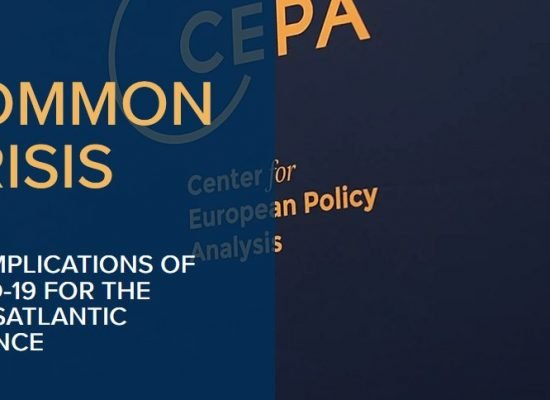 Common crisis: The implications of COVID-19 for the Transatlantic Alliance