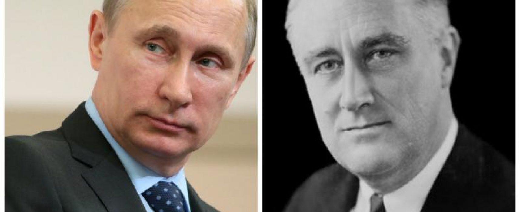 Путін назвав обмеження кількості президентських термінів недавньою ідеєю, пославшись на досвід США. Проте там ця традиція існує з часів Вашингтона