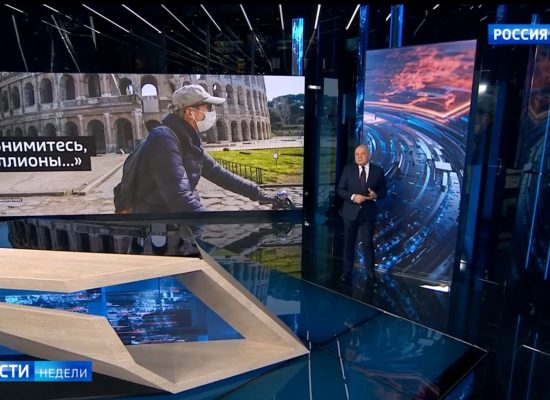 Фейк Дмитра Кисельова: пандемія COVID-19 дала старт розвалу Євросоюзу