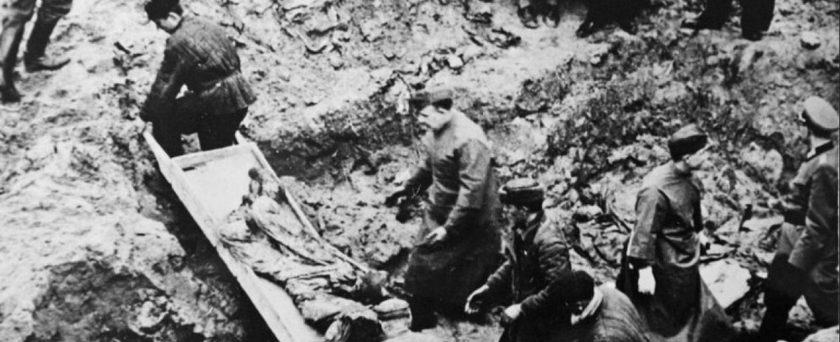 РИА «Новости» возродило советский фейк о том, что польских военнопленных в Катыни расстреляли немцы