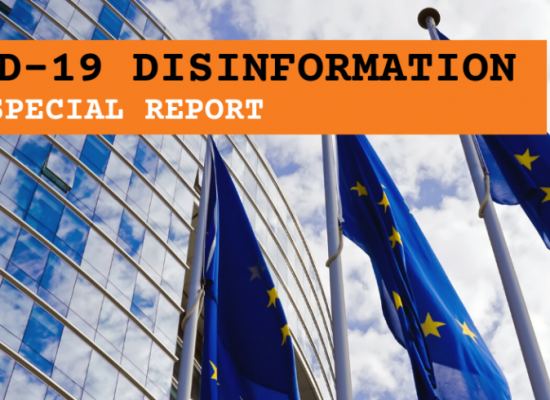 EEAS SPECIAL REPORT: Disinformation on the coronavirus – short assessment of the information environment