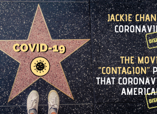 Coronavirus meets Hollywood