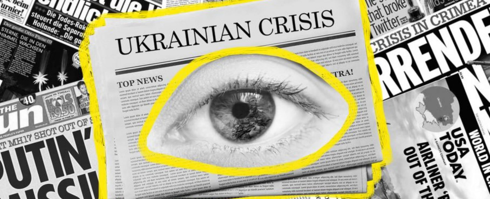 How British, German, and US media cover Crimea's annexation and the Donbas war