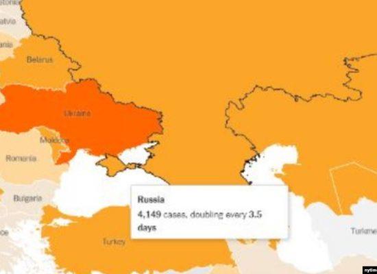 The New York Times опублікував карту з російським Кримом (+ фото)