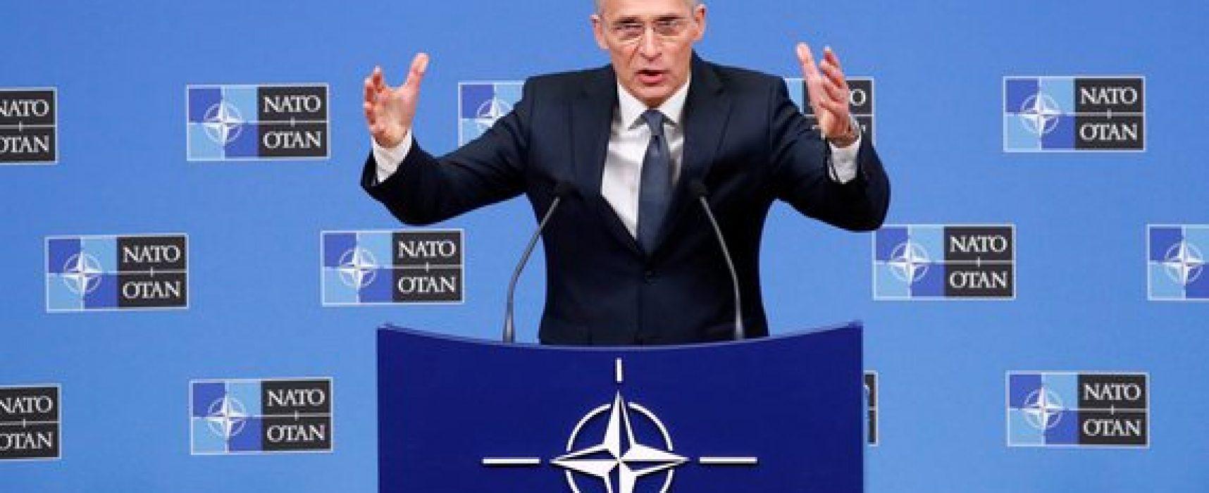 Fake agencji RIA Nowosti: Sekretarz Generalny NATO docenia rosyjską pomoc dla Włoch