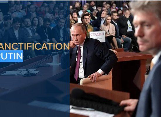 The desanctification of Putin