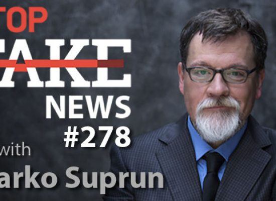Russian Coronavirus Disinformation: StopFakeNews with Marko Suprun (No. 278)