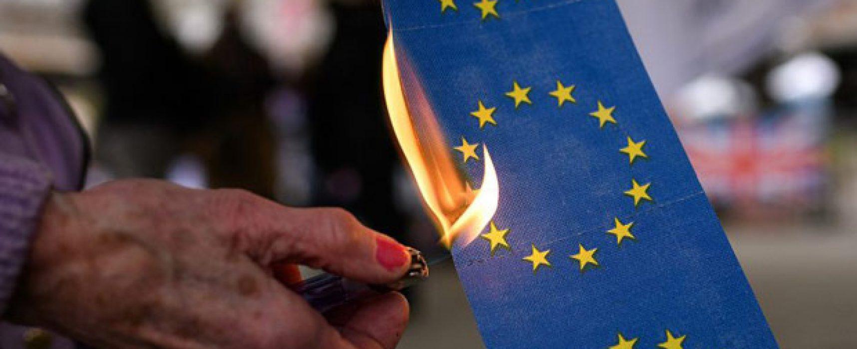 Fake Prvního kanálu: pandemie COVID-19 dostala EU na pokraj rozpadu