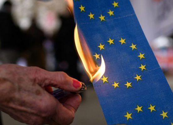 Фейк Першого каналу: пандемія COVID-19 поставила Євросоюз на межу розколу