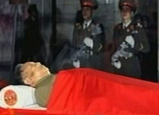 Is this photo of Kim Jong Un's funeral real? No!