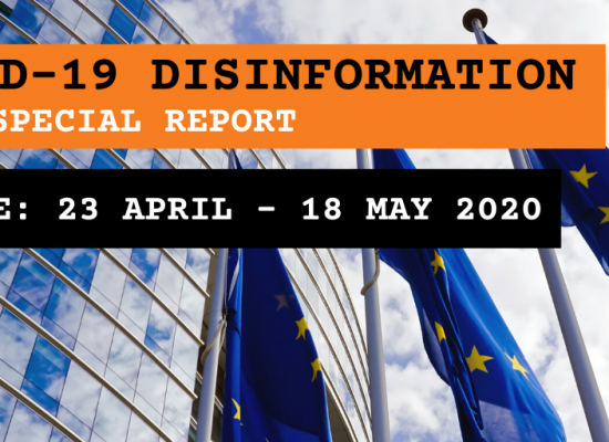 EEAS Special Report update: short assessment of narratives and disinformation around the COVID-19 pandemic (update 23 April – 18 May)